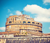 Saint Angel castle in Rome — Stock Photo