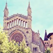 Cathedral Sant Bartomeu in Soller — Foto Stock
