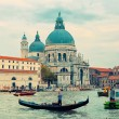 Basilica Santa Maria della Salute in Venice — Stock Photo