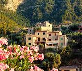 Mountain village Deia in Mallorca — Stock Photo
