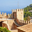 Stock Photo: Fortification of Capdepera