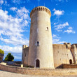 Medieval castle Bellver in Palma de Mallorca — Stock Photo