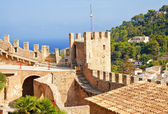Fortification of Capdepera — Stock Photo