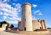 Medieval castle Bellver in Palma de Mallorca — Stock Photo