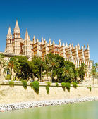 Cathedral La Seu in Palma de Mallorca — Stock Photo
