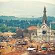 Stock Photo: BasilicSantCroce, Florence