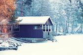 Maison d'hiver — Photo