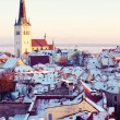 Saint Olaf church in Tallinn — Stock Photo
