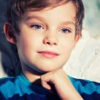 Pensive boy — Stock Photo