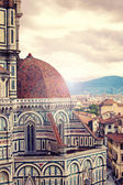 View from Santa Maria del Fiore, Florence — Stock Photo