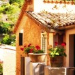 Charming house in Deia village in Mallorca, Spain — Stock Photo #42447605