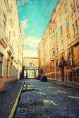 Old Tallinn street — Stock Photo
