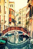 Venetian canal — Stock Photo