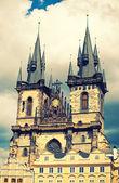 Tyn kościoła w pradze — Zdjęcie stockowe
