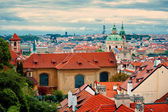 Beautiful view of Prague — Stock Photo