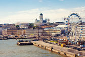 Helsinki port — Stock Photo