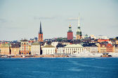 View to Gamla Stan in Stockholm — Stock Photo