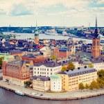 Panorama of Stockholm — Stock Photo
