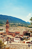 Spain old town Biar — Stock Photo