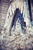 Sculpture in Sagrada Familia, Barcelona — Stock Photo
