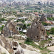 Unique geological formations, Cappadocia, Turkey — Stock Photo #12590811