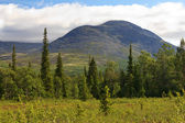 The Mount Yudychvumchorr, Khibiny, Russia — Stock Photo