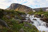 The Mount Fersman, Khibiny, Russia — Stock Photo
