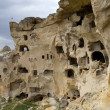 Unique geological formations, Cappadocia, Turkey — Stock Photo #13142139