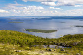 Kandalaksha Bay of the White Sea, Russia — Stock Photo