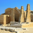 Stock Photo: The ruins of the temple at Saqqara, Egypt