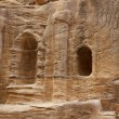 Foto de Stock  : Ruins in Bab as-Siq, Petra, Jordan