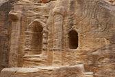 Ruins in Bab as-Siq, Petra, Jordan — Stock Photo