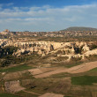 Turkey, Cappadocia, the view from the balloon — Stock Photo