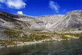 The mountain Indivichvumchorr, Khibiny, Russia — Foto Stock