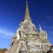 Wat PhrSri Sanphet Temple, Ayutthaya, Thailand — Stock Photo #18583351