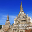Wat PhrSri Sanphet Temple, Ayutthaya, Thailand — Stock Photo #18613349