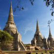 Wat phra sri sanphet temple, ayutthaya, Thaïlande — Photo