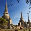 ワット ・ プラ ・ スリ · サンペット寺院、アユタヤ、タイ — ストック写真