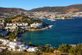 Bodrum, Turkey - view of the end of the day — Stock Photo