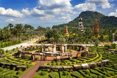 Nong Nooch Garden in Pattaya, Thailand — Stock Photo