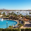 Naama Bay in Sharm El Sheikh, Egypt - Stock Photo