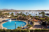 Naama Bay in Sharm El Sheikh, Egypt — Stock Photo