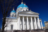 Trinity Izmailovo Cathedral, St. Petersburg, Russia — Stock Photo