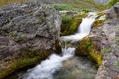 The Poachvumyok river, Khibiny, Russia — Stock Photo
