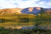 Vue du col de chorrgor nord, khibiny, russie — Photo