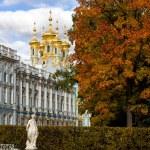 Постер, плакат: Catherine Palace in Tsarskoye Selo Pushkin Russia