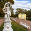 Statue of Galatea in the Catherine park in Pushkin (Former Tsars — Stock Photo #35199763