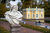 Statue in the Catherine park in Pushkin (Former Tsarskoe Selo) — Stock Photo
