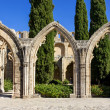 Stock Photo: Bellapais Abbey near Kyrenia, Northern Cyprus