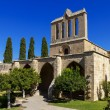 Bellapais Abbey near Kyrenia, Northern Cyprus — Stok fotoğraf